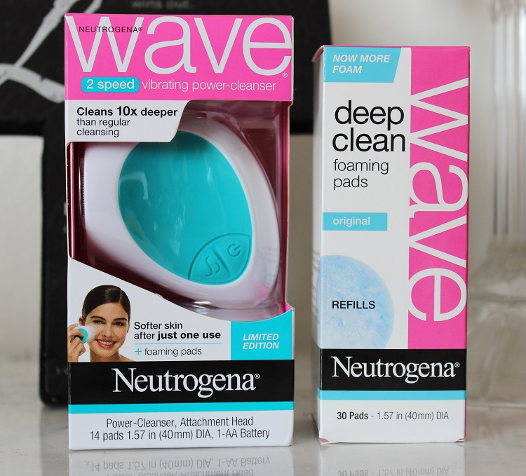 Neutrogena Wave Original Vibrating Power-Cleanser (Initial Review) - Daily Ellement